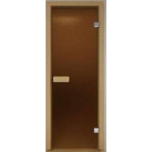 Дверь матированная бронза 700*1900*6 мм