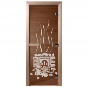 """Дверь бронза """"Банька"""" 1900*700*8 мм"""
