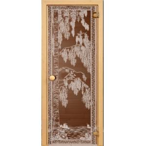 """Дверь бронза """"Березка"""" 1900*700*6 мм"""